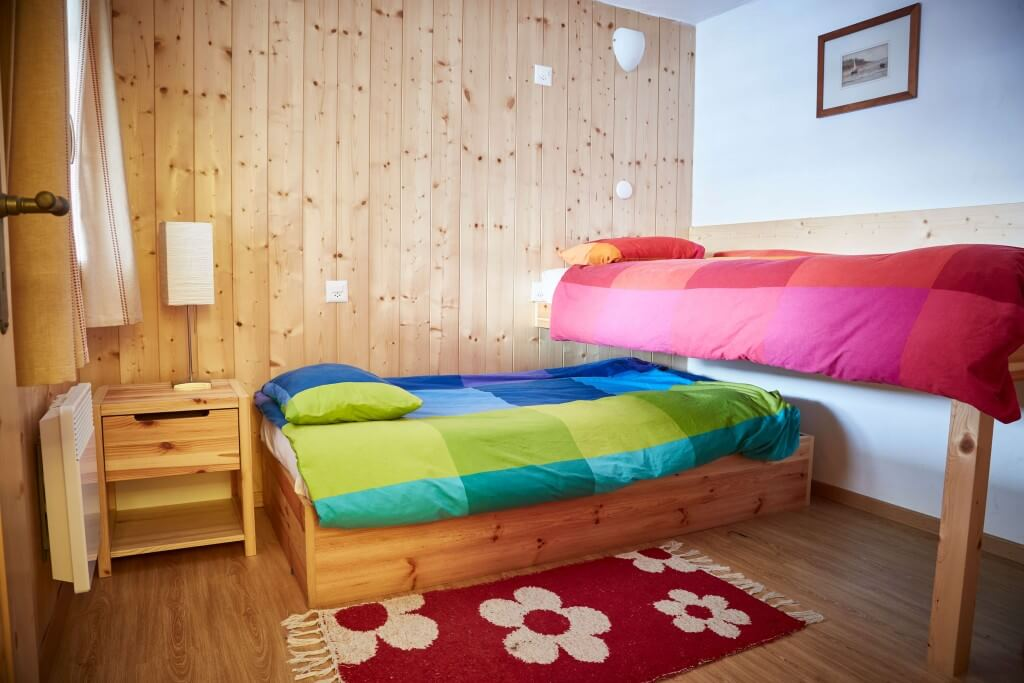 "Bedroom 1 - ""Swedish Bunks"""