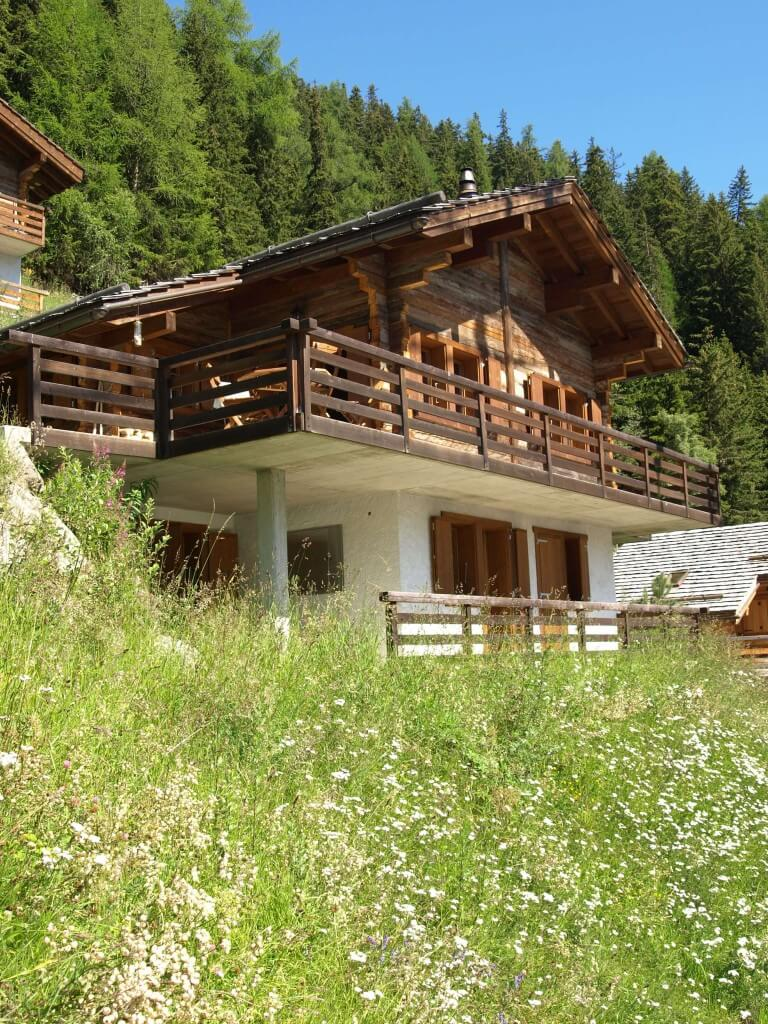 Chalet Roux in Summer